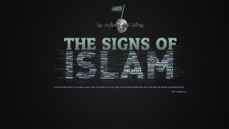 THE SIGNS OF ISLAM