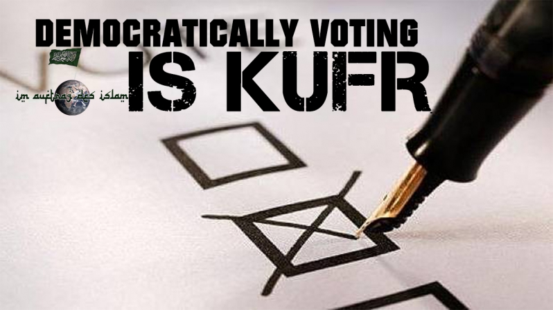 DEMOCRATICALLY VOTING IS KUFR